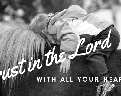 Proverbs 3:5 – Trust In The Lord With All Your Heart