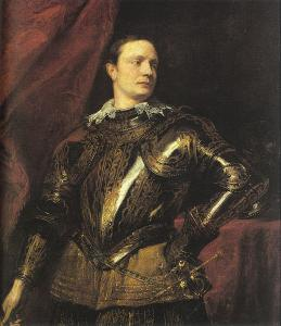 Anthony Van Dyck - Portrait of a Young General