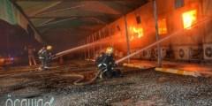 ما هي أسباب حريق محطة قطار الحرمين