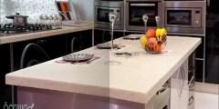 طريقة تركيب الرخام الصناعي للمطابخ
