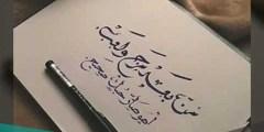 من بعد مزح ولعب كلمات عبدالمجيد