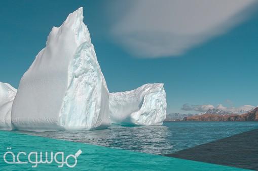 رواية جبل الجليد كاملة