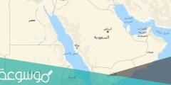 اين تقع عمان بالنسبة لشبه الجزيرة العربي
