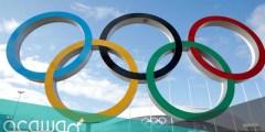 كم عدد الحلقات الموجودة في رمز الألعاب الأولمبية؟