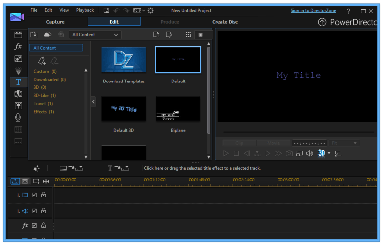 CyberLink PowerDirector 16.0.2101.0 [Full] ตัดต่อวิดีโอคุณภาพ