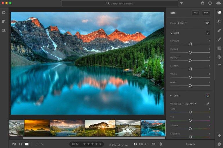 Adobe Lightroom Mac 2020 v9.4 [Full] ฟรีถาวร สำหรับ macOS