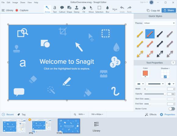 TechSmith Snagit 2021 Screenshot