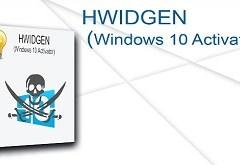 HWIDGEN v62.01 | Activate Windows 10 ที่ดีและปลอดภัย! พร้อมวิธีใช้