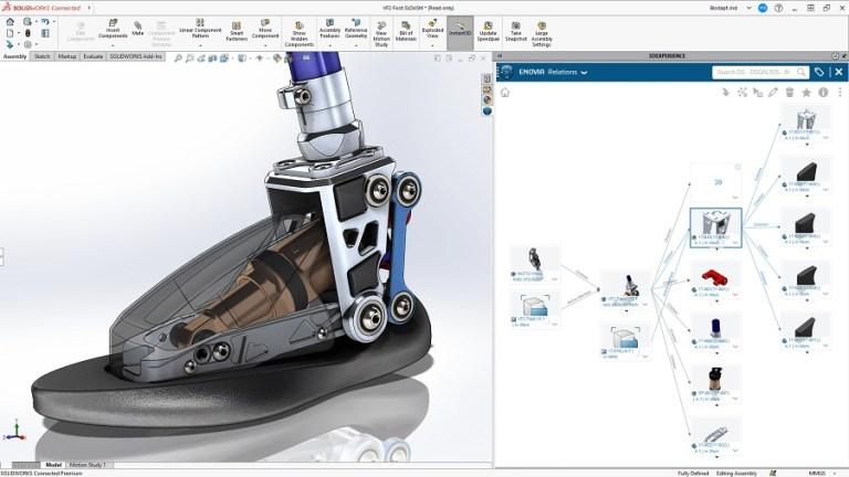 SolidWorks 2021 Screenshot