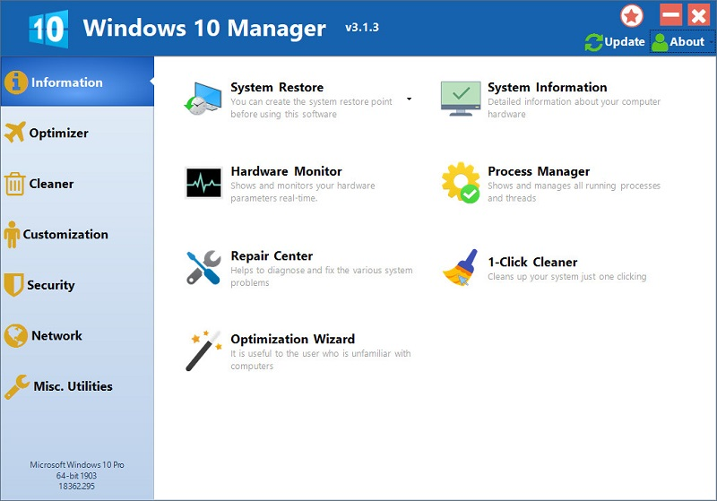 windows10manager