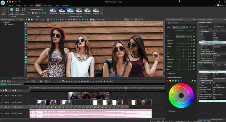 VSDC Video Editor Pro Screen