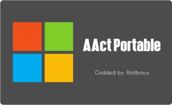 AAct Portable v4.2.1 ทำ Win10 Office2019 เป็นของแท้ถาวร
