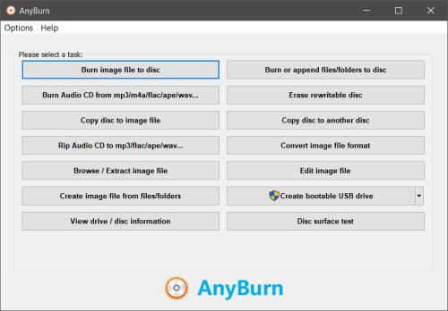 AnyBurn Screenshot