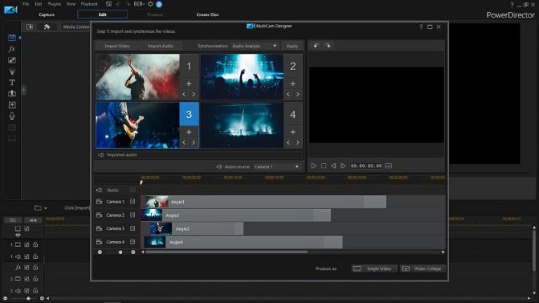 PowerDirector 18 Screenshot