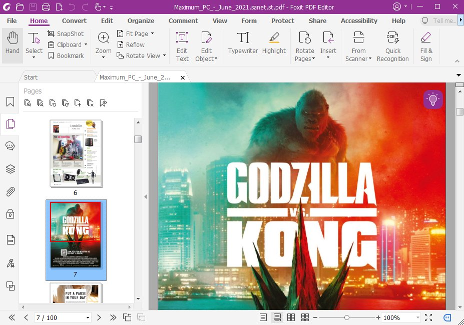 Foxit PDF Editor Pro Screenshot