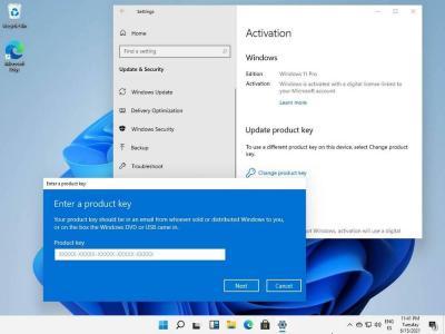 Activate Windows 11 Screenshot
