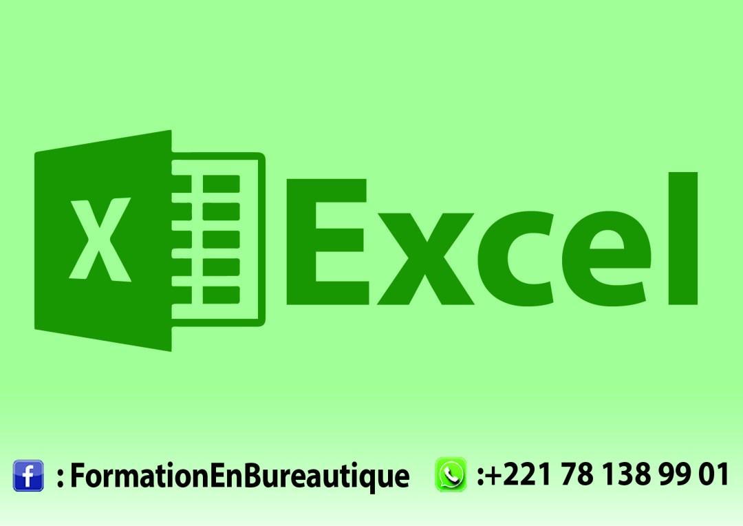 Formation en Excel