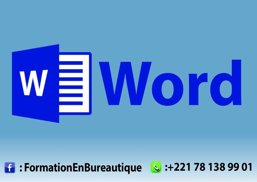 Cours Microsoft Word