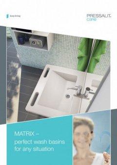 adjustable sink brochure cover
