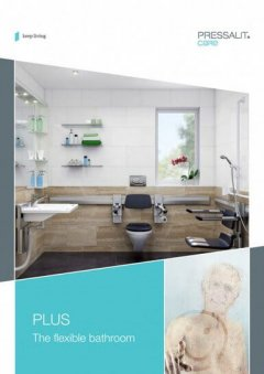 adjustable bathroom brochure cover