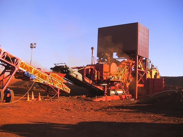 MXP2 Iron ore MAX Plant mining project Australia 5