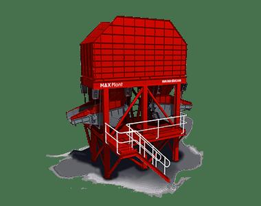 ground feed bin