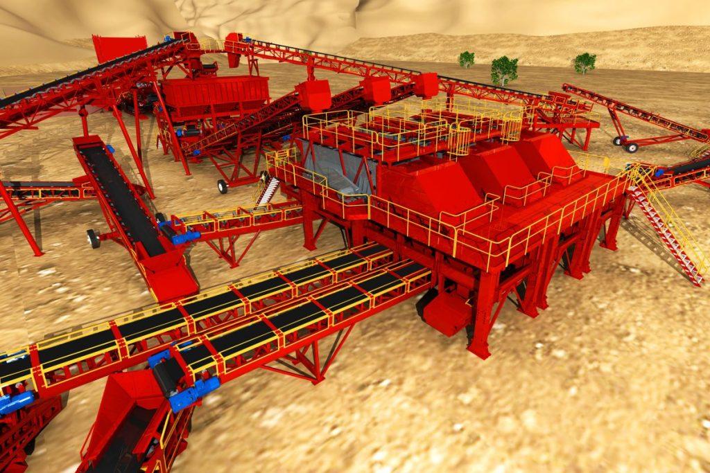 MXP2 - 3d design MAX Plant mining project 3