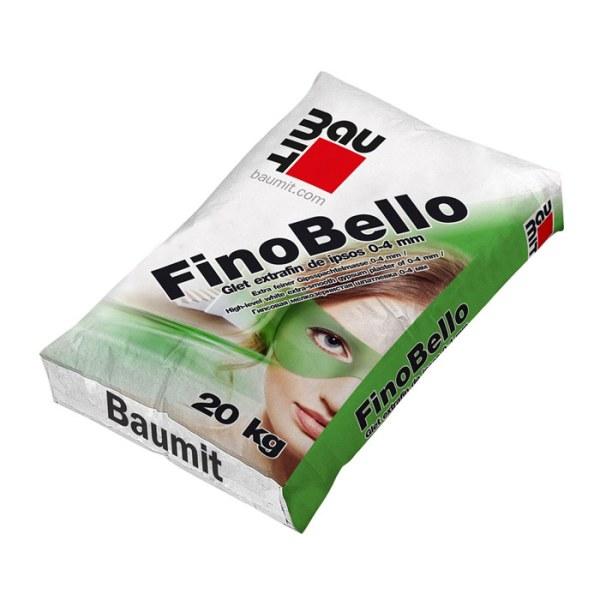 Glet ipsos, de finisare, Baumit FinoBello interior, 20 kg