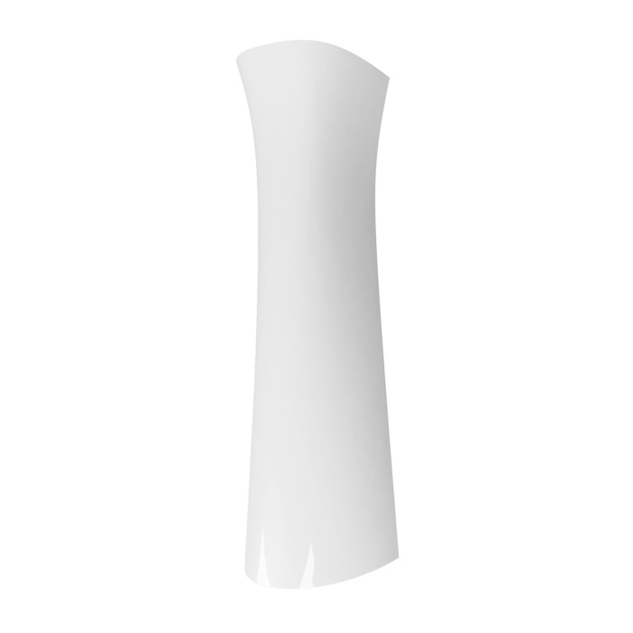 Piedestal lavoar Cersanit President, inaltime 64 cm, alb, cod K08-011
