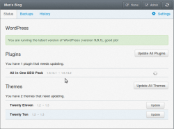 UPGRADING. WP Remote allows you to remotely upgrade plugins and themes.