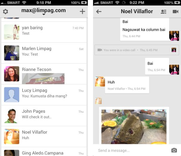 UNIFIED MESSAGING. Hangouts is Google's unified messaging application that allows you to chat on your phone, tablet or computer and move among these devices seamlessly.