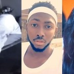 #BBNaija: Another Sex-tape of Miracle and Nina surfaces