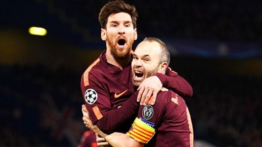 Iniesta and Messi Included In Barcelona Squad To Face Chelsea