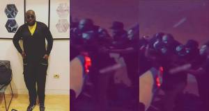 Mavin records DJ, Big N reportedly engage policemen after shooting in a night club (Video)