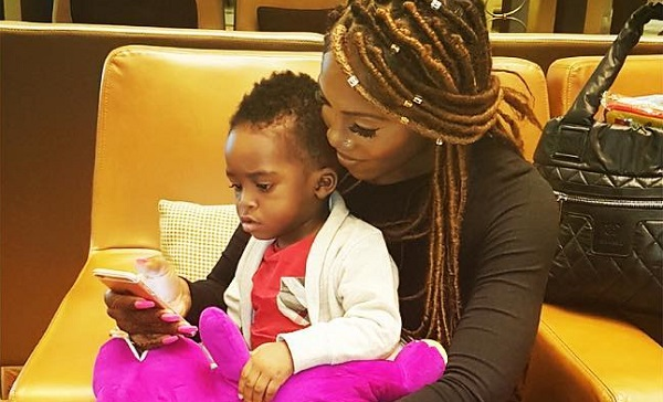I'm always inspired when I see mothers who work and still take care of their babies - Tiwa Savage