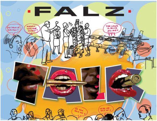 Talk by Falz