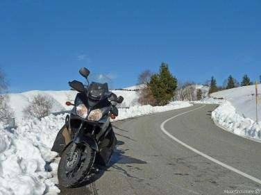 Road to Mottarone Mountain - Piemonte - Italy