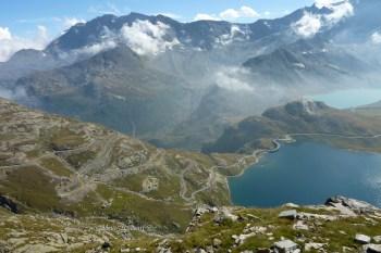 Fantastic Alpine Road in Gran Paradiso National Park - Piemonte - Italy