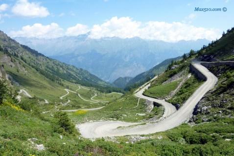 Alpine Road Colle delle Finestre - Piemonte - Italy