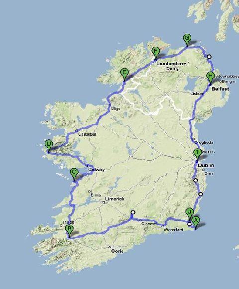 Irlanda in moto 2008: il diario diviaggio (1/6)