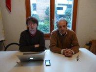 Con Franco Cavalli, ex-consigliere nazionale, ottobre 2010