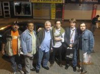 """Con il complesso musicale cileno """"Inti Illimani"""", Istanbul, maggio 2012"""