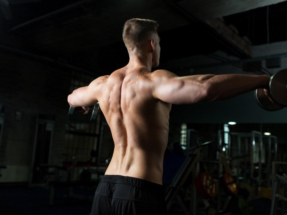 肩の筋トレ サイドレイズ