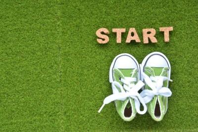 運動を始めるイメージ