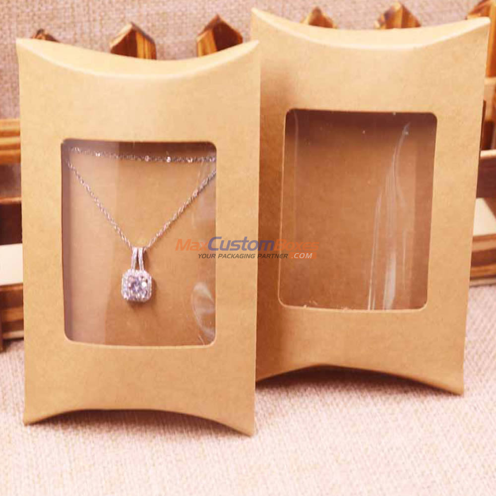 pillow boxes with window