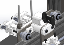 X Axis Cable Chain Mounting