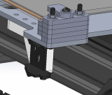 Y - Axis Cable Chain Mounting