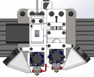 Hybrid - Bowden - Direct Extruder System