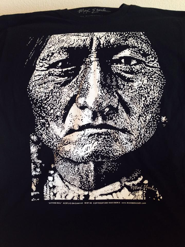 SITTING BULL SHIRT CLOSE