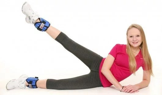 Ankle weights are a great way to make your workouts more intense.